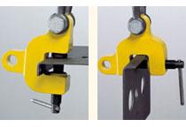 Camlok TSZ multidirectional screw clamp for plate steel
