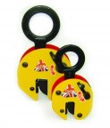 Camlok lifting clamps