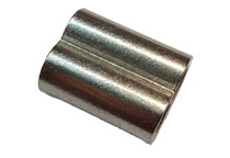 Nickel plated copper ferrule for wire rope