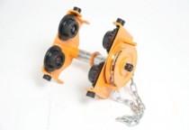 Gear trolley for chain block or chain hoist