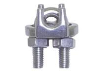 Stainless steel rope grip