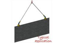 Camlok CY universal plate lifting clamp